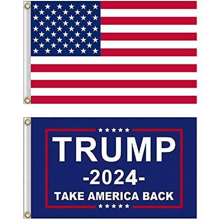 3x5 ft Flag Donald Trump Flag Double Stitched Brass Grommets Stripes Star USA