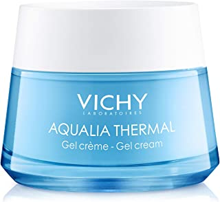 Vichy Aqualia Thermal Mineral Water Gel Moisturizer for Face with 97% Natural Origin Hyaluronic Acid, Dermatologist Recommended for 48-hr Hydration, Mineral Oil & Paraben-Free, 1.69 Fl. Oz