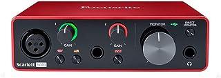 Focusrite SCARLETT SOLO 3rd Gen 192kHz رابط صوتی USB w / Pro ابزارهای اول