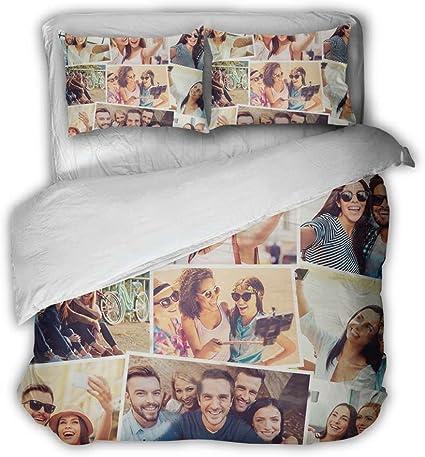 Babloo Copripiumino Matrimoniale Personalizzato 220x240 Con Foto Policotone Amazon It Casa E Cucina