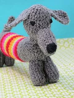 button bag Crochet A Sausage Dog Creative Art & Craft Knitting Set