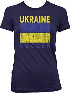 Ukraine Soccer, Ukrainian Flag, Football Juniors T-shirt, NOFO Clothing Co.