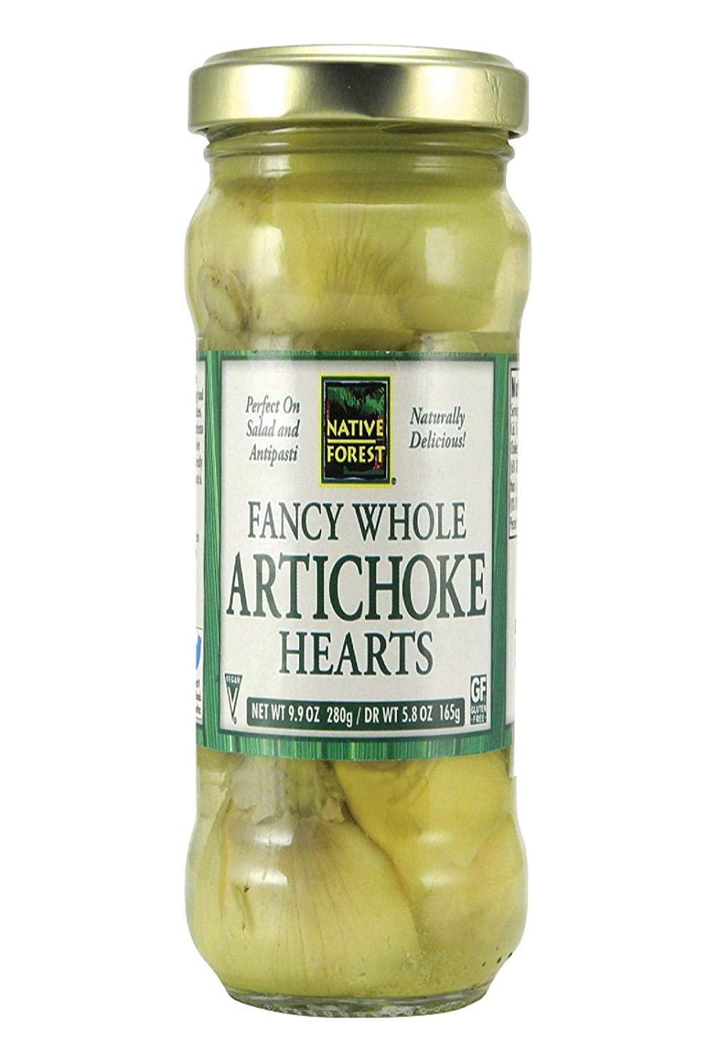 Native Reservation Manufacturer direct delivery Forest Artichoke Hearts Ounce 9.9 Whole