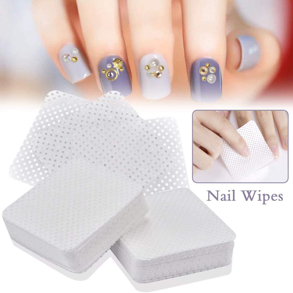 Bettying Nail Art Wipes 200 unids Removedor de Esmalte de uñas ...
