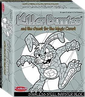 Playroom Entertainment PRE46100, Killer Bunnies Steel Booster, Gray 0803004461002