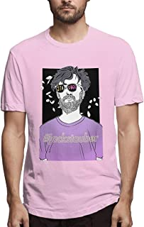 KOTEHR T Shirt Peofessional Print Design Breathable Casual Shirt for Man