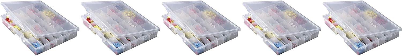 5324 Portable Organizer 24-Fixed Premium Superlatite Compartments Small Par free
