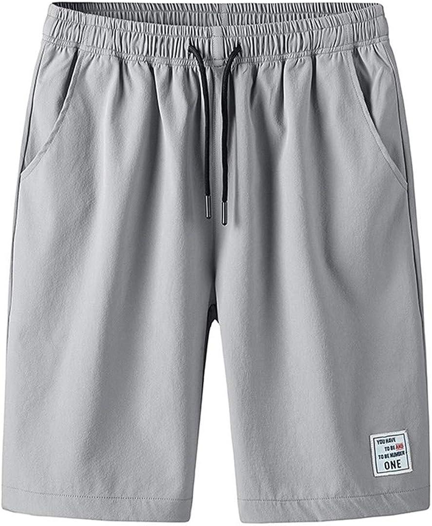 Kevents Mens Summer Shorts Men Casual Cargo Shorts Cotton Beach Short Pants Mens Quick Drying Boardshorts
