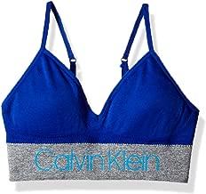 Calvin Klein Girls' Kids Seamless Long Line Wirefree Comfort Bralette Bra
