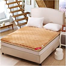 Futon Tatami Mattress,Student Dormitory Mattress,Foldable, Single/Double Warm Mattress,3 Colors for You to Choose from,B,1...