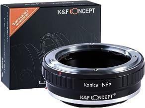 [正規代理店]K&F コニカ ARマウント-SONY NEX Eマウントアダプター レンズクロス付 ar-nex (KFNEX)