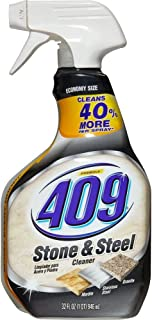 Formula 409 Stone and Steel Cleaner, Spray Bottle, 32 Ounces (3)