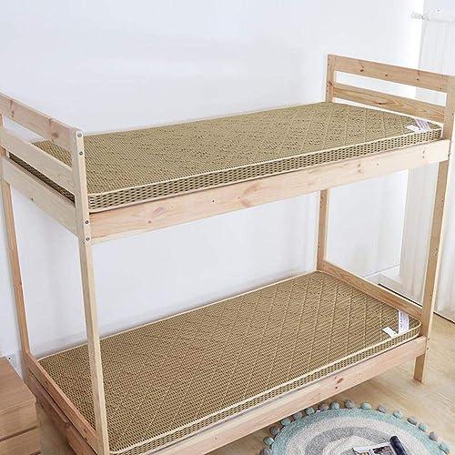 Schlafmatte bequeme Matratze Tragbare Schlafmatratzenauflage 锛 孴 hick Flanell Tatami-Fu tte japanisches Bett Langlebige Premium-Matratzenauflage für Studentenwohnheim, Zuhause-Braun 150x200cm   (59x7