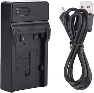 NB-2L Cargador de batería entrada de alimentación micro USB Cámara de una sola ranura Estación de carga de batería con luz LED para Canon para EOS 350D 400D S30 S40 S45 S50 S70 S80 G7 G9 DSC330