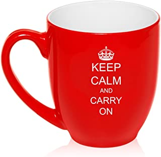 Best keep calm and carry on coffee mugs Reviews