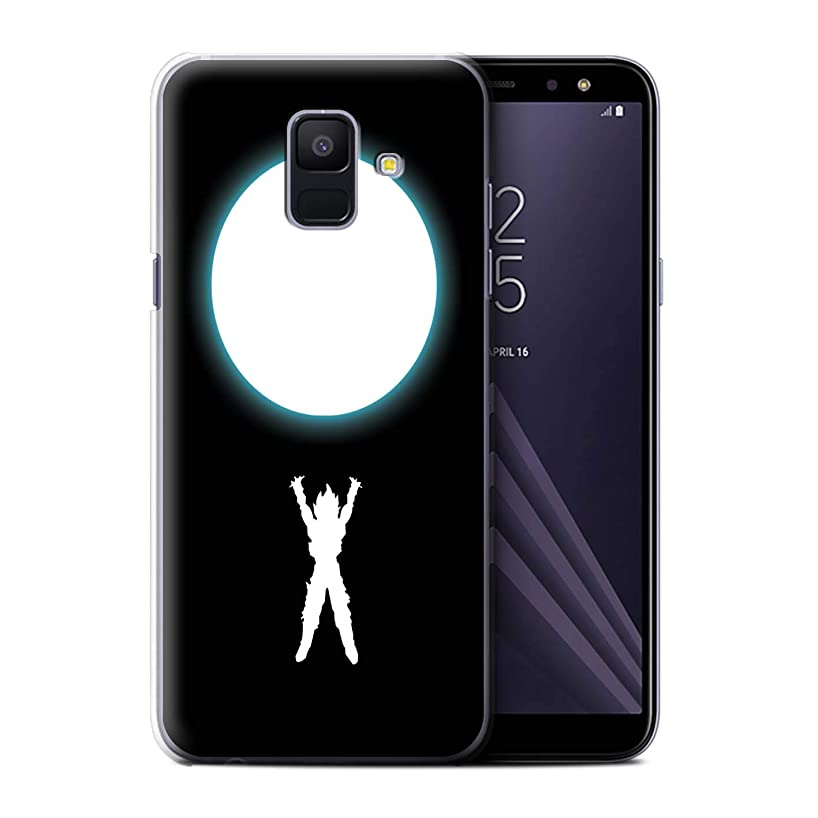 STUFF4 Phone Case/Cover for Samsung Galaxy A6 (2018) / Spirit Bomb Inspired Design/Anime Fighters Collection