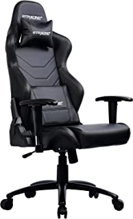 GTRACING Music Gaming Chair with Bluetooth Speakers【Patented】 Audio Racing Chair Heavy Duty 400lbs Ergonomic Multi-Function E-Sports Chair for Pro Gamer GT899 (Black Audio)