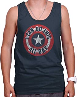 a97d2bba22c5b1 Brisco Brands I Can Do This All Day Comic American Hero Tank Top