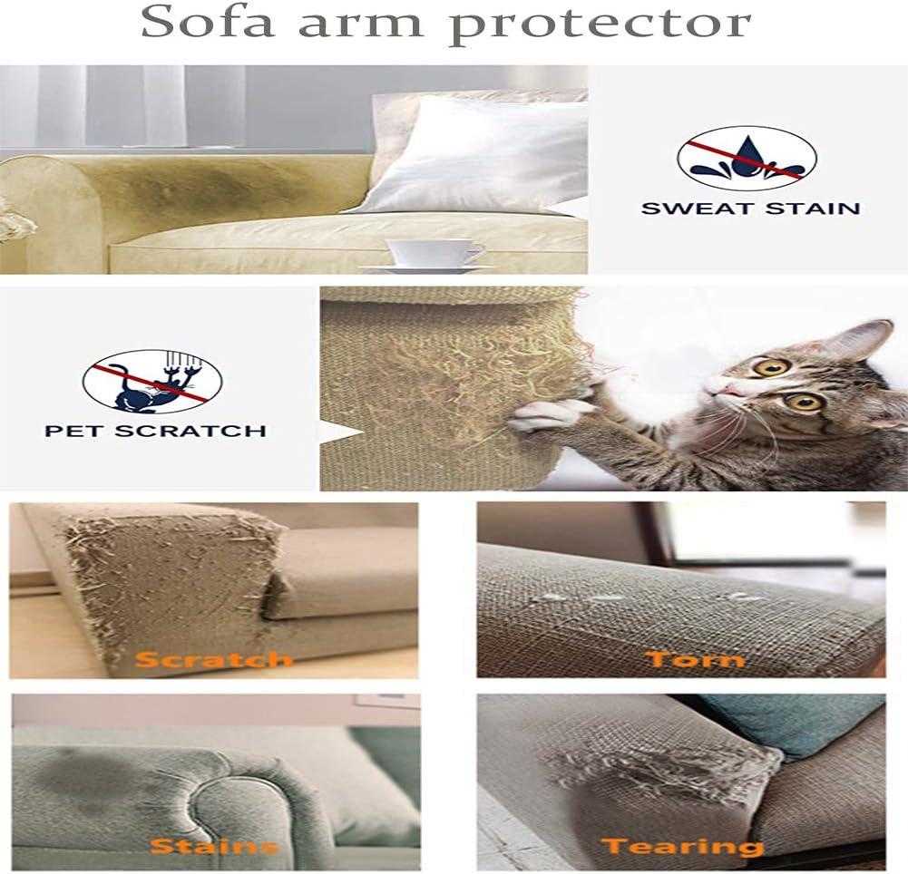 hotel mobili in pelle quadrati Ezoon casa Set di copri braccioli per divano e braccioli per ufficio