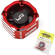 Yeah Racing Aluminum Case 30mm Booster Cooling Fan Red #YA-0576RD