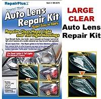 Blue Star Auto Lens Repair Kit ブルースターオートヘッドライトとテールライトハウジングレンズ修理キット、クリスタルクリア