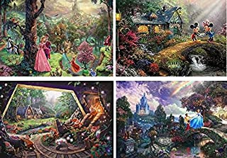 Ceaco Disney The Disney Collection 4 in 1 Multipack Sleeping Beauty, Mickey & Minnie..