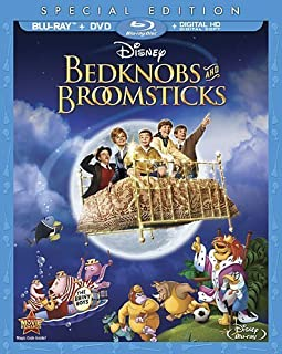 Bedknobs & Broomsticks [Blu-ray] by Walt Disney Studios Home Entertainment by Robert Stevenson