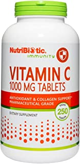 Nutribiotic Vitamin C Tabs, 1000 Mg, 250 Count