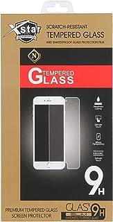 اكس ستار شاشة حماية زجاجية لاجهزة سامسونج جالاكسي ايه 7 - 5.5 انش , شفاف