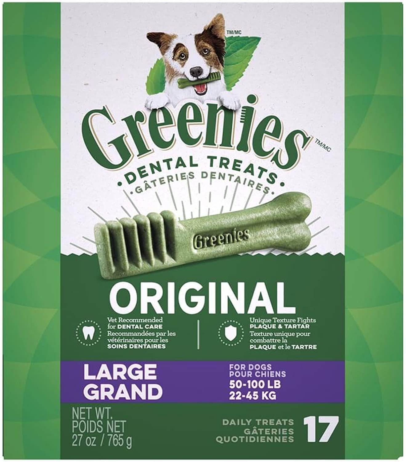 Greenies 17 ct 27 oz Canister Large (1 x 27oz)