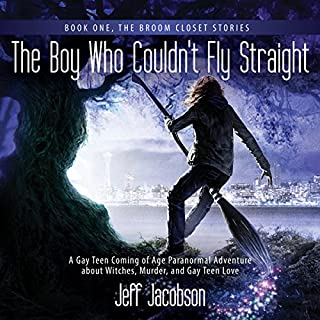 The Boy Who Couldn't Fly Straight cover art