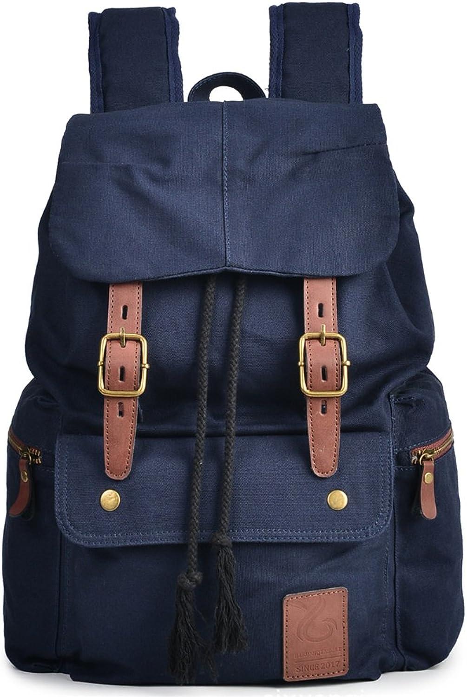 Student canvas bag largecapacity school bag