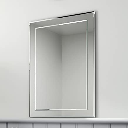 Magnificent Amazon Co Uk Rectangular Bathroom Mirrors Bathroom Home Interior And Landscaping Synyenasavecom