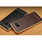 Soft Leather TPU Phone Case (Brown)