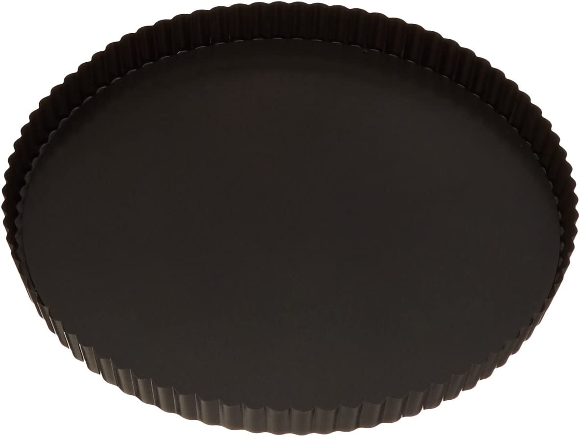 Paderno World Cuisine 12.5 Inch Max 74% OFF Fluted with R Non-Stick El Paso Mall Tart Pan
