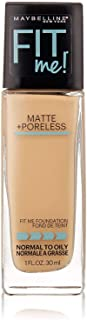 Maybelline Fit Me Matte Plus Poreless Foundation 130 Buff Beige 30ml