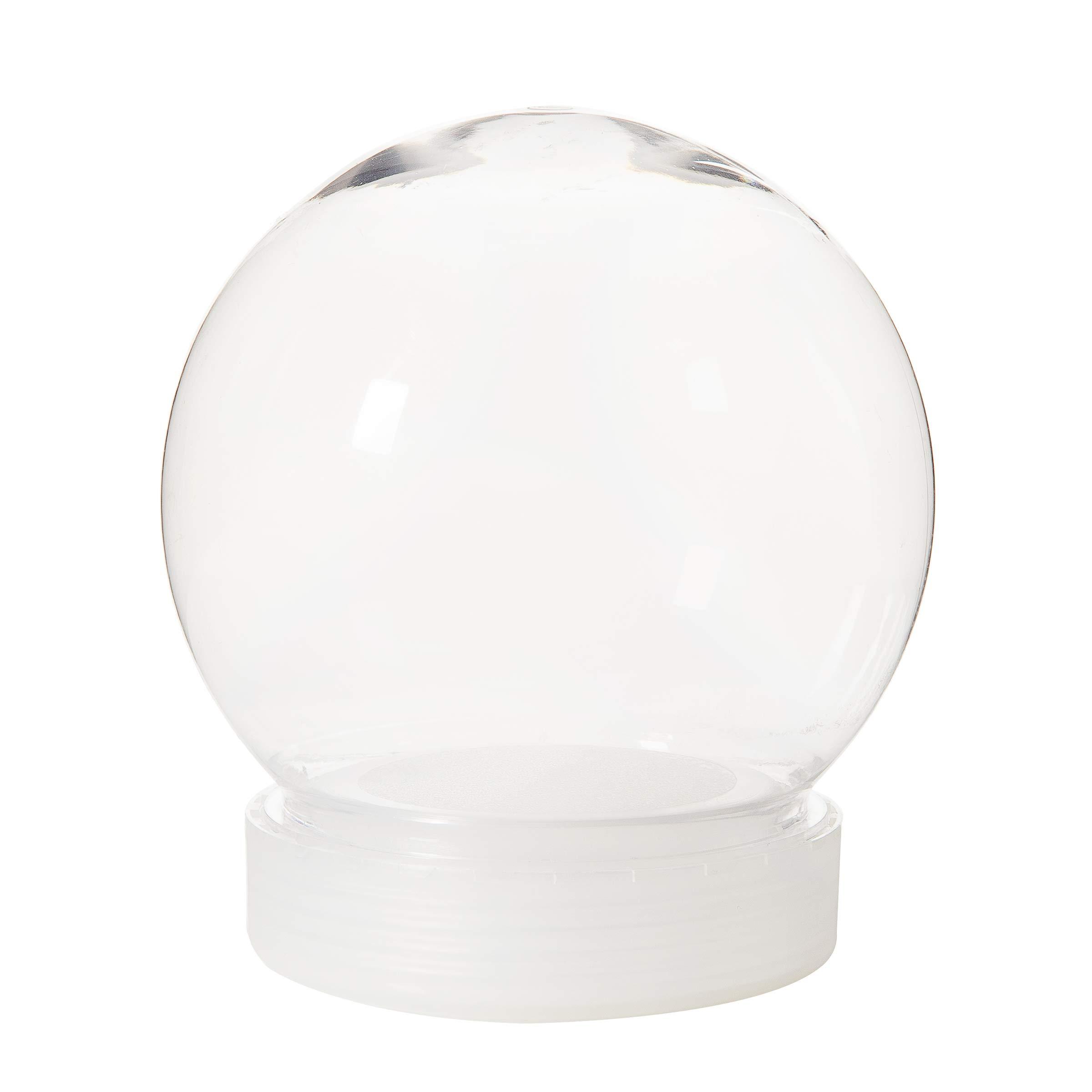 Darice 30066385 Plastic 130mm Waterglobe