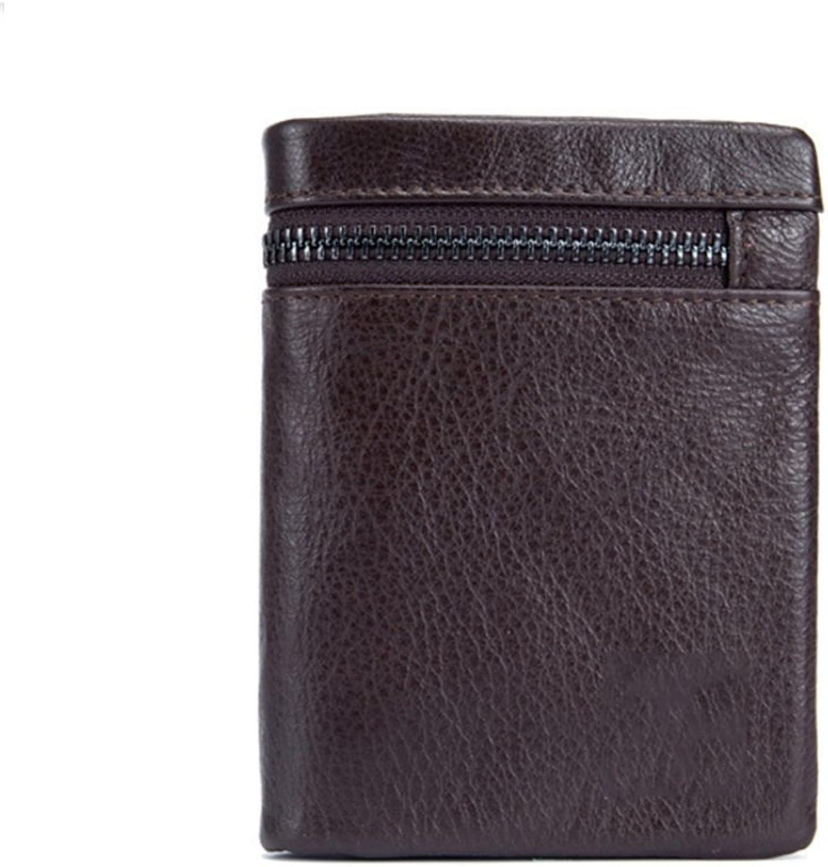 Xuanbao Herrenbrieftaschen Herren Herren Herren Leder Brieftasche Multifunktionale Folding Multi-Card Leder Handgemachte Brieftasche Führerschein Brieftasche Krotitkarten-Geldbörse (Farbe   Braun) B07GBNYLVT fcfd33