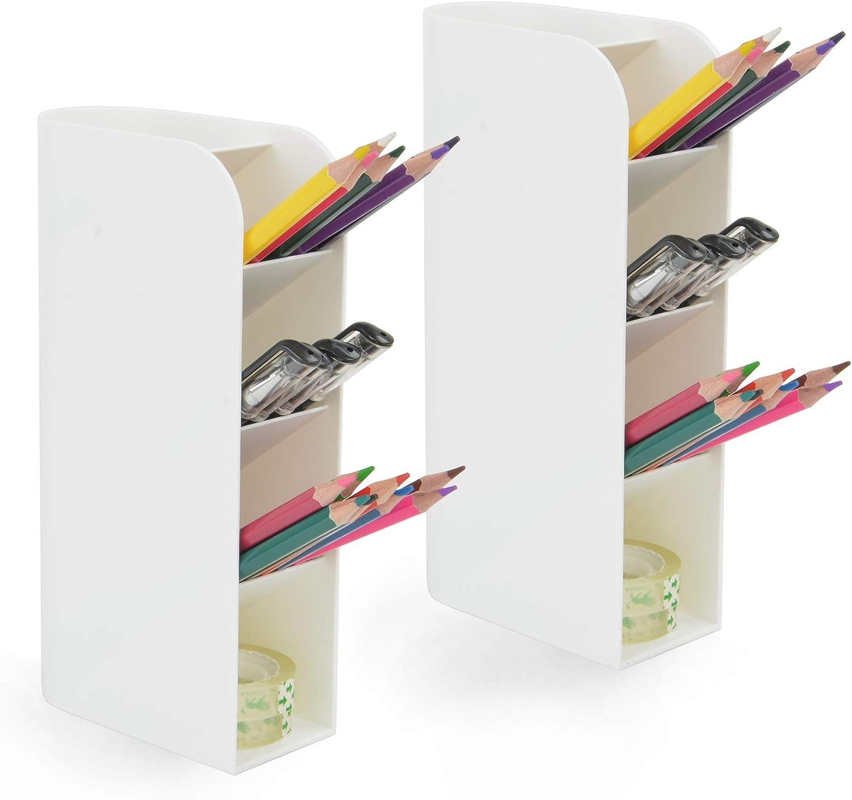 2 Al sold out. PCS Desk Organizer - Marke Pen Manufacturer regenerated product Holder Pencil Storage