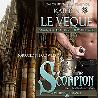 Scorpion: Saxon Lords of Hage - De Wolfe Pack audiobook cover art