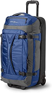 Unisex-Adult Expedition Drop-Bottom Rolling Duffel - Large, Sapphire