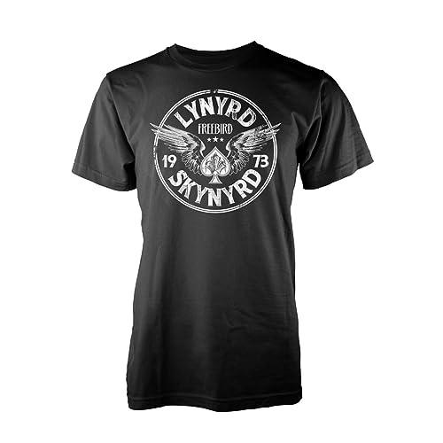 b7f9a12985f Lynyrd Skynyrd  Free Bird  73 Wings  T-Shirt Black