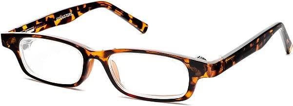 Eyejusters Self-Adjustable Glasses, Oxford Edition, Tortoise