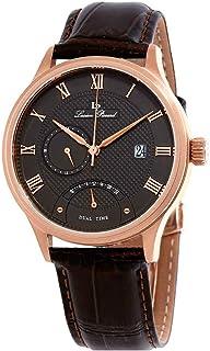 Volos Retrograde Dual Time Men's Watch 10339-RG-014-BRW