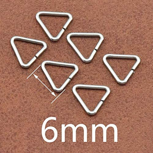Amazon.com: Kamas 100pcs/lot Jewelry Making Findings Triangle Open Jump Rings & Split Rings DIY Handmade Jewelry Stainless Steel Connector - (Color: 8mm)