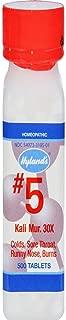 Hyland's No.5 Kali Mur. 30x -- 500 Tablets