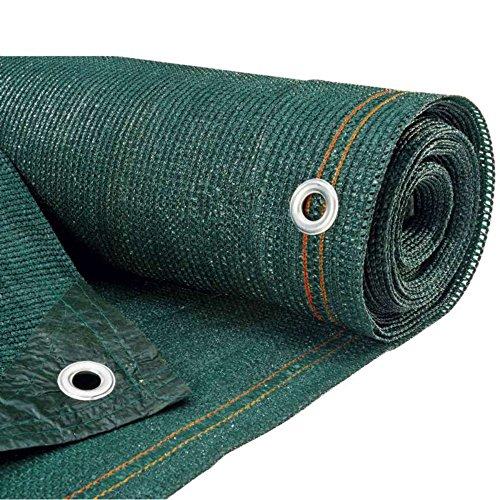 Werkapro 10067 - Malla de Vista Verde (300 gr/m2, Rollo de 10 x 1,2 m, Polietileno)