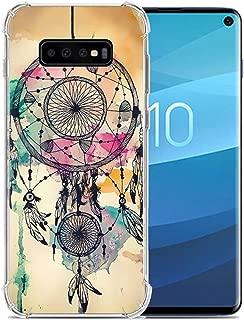 ANERNAI Compatible with Samsung Galaxy S10e 2019 Case, Ultra-Thin Pattern Design Soft Flexible TPU Shockproof Cute Anti-Scratch Cover Case (Dreamcatcher)