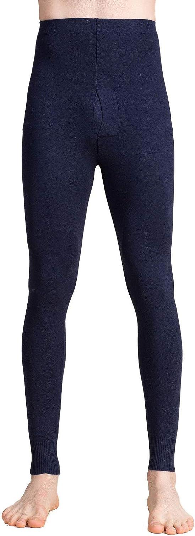 Paradise Silk Cashmere Silk Knit Men Sheer Thermal Pant Long Johns Bottom
