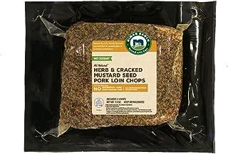 Niman Ranch Seasoned Pork Chop, Herb/Cracked Mustard Seed, 0.8125 lb